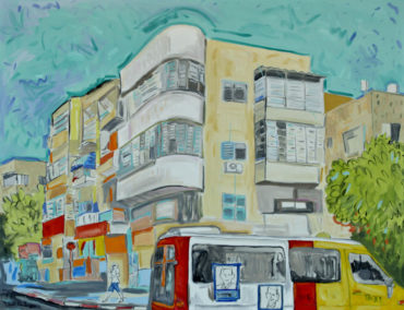 "Sali Ariel: ""Tel Aviv Paintings  – The City That Never Sleeps Awakens From The War"""