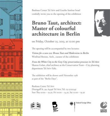 ברונו טאוט–אדריכל, אמן הבנייה בצבע בברלין