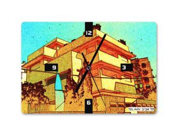 שעון קיר באוהאוס תל אביב 7  – בעיצוב אופק ורטמן