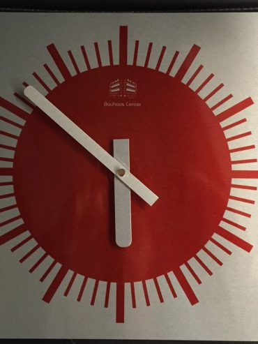 Bauhaus Center Wall Clock