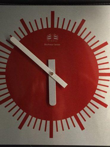 Bauhaus Center Wall Clock