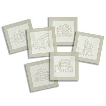 Bauhaus Coasters