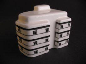 Bauhaus Miniature: 58 Yehuda HaLevi St.