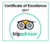 Tripadvisor Badge of Excellence