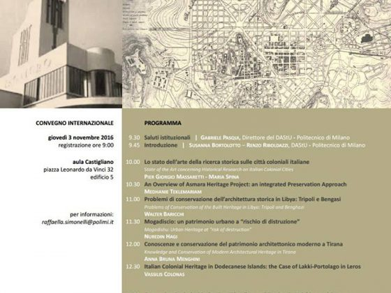 Urban and Architectural Heritage: Colonial Historical Centers and New  Towns – International Symposium at the Politecnico Milano