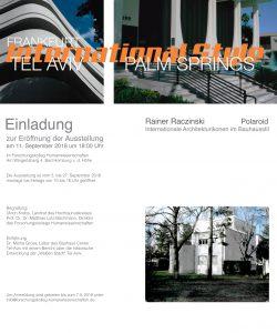 | Internationale Architekturikonen im Bauhausstil