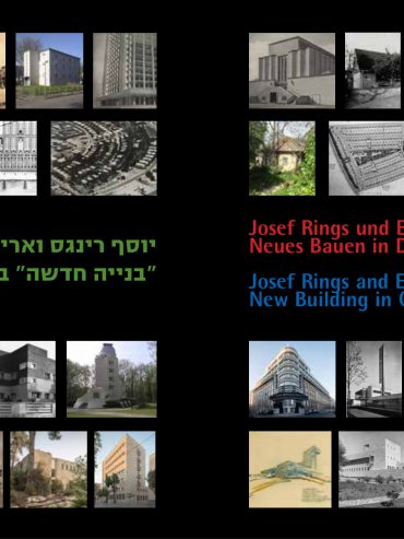 Josef Rings and Erich Mendelsohn: New Building in Germany and Mandatory Palestine
