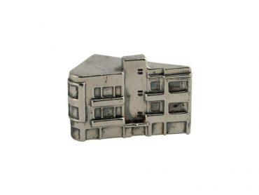Pinsker Street, Tel Aviv Sterling Silver Miniature Building