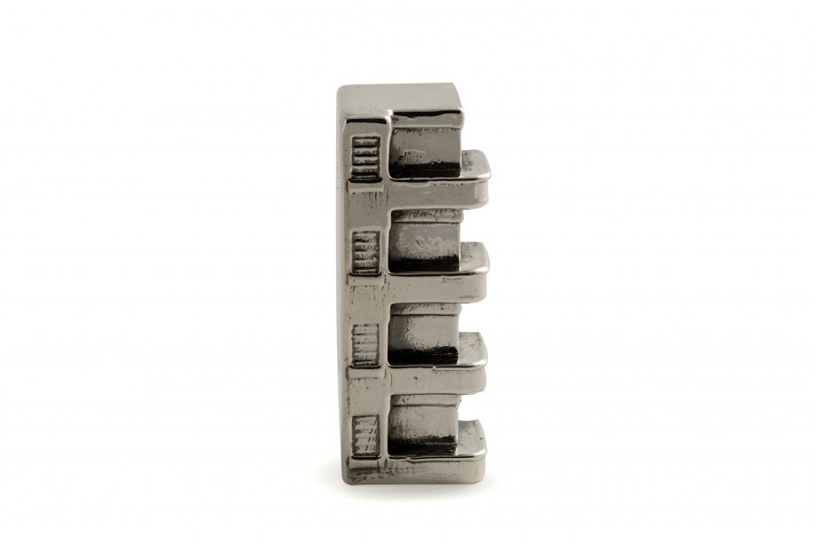 | Frug 34, Tel Aviv Sterling Silver Miniature | Bauhaus Center Tel Aviv