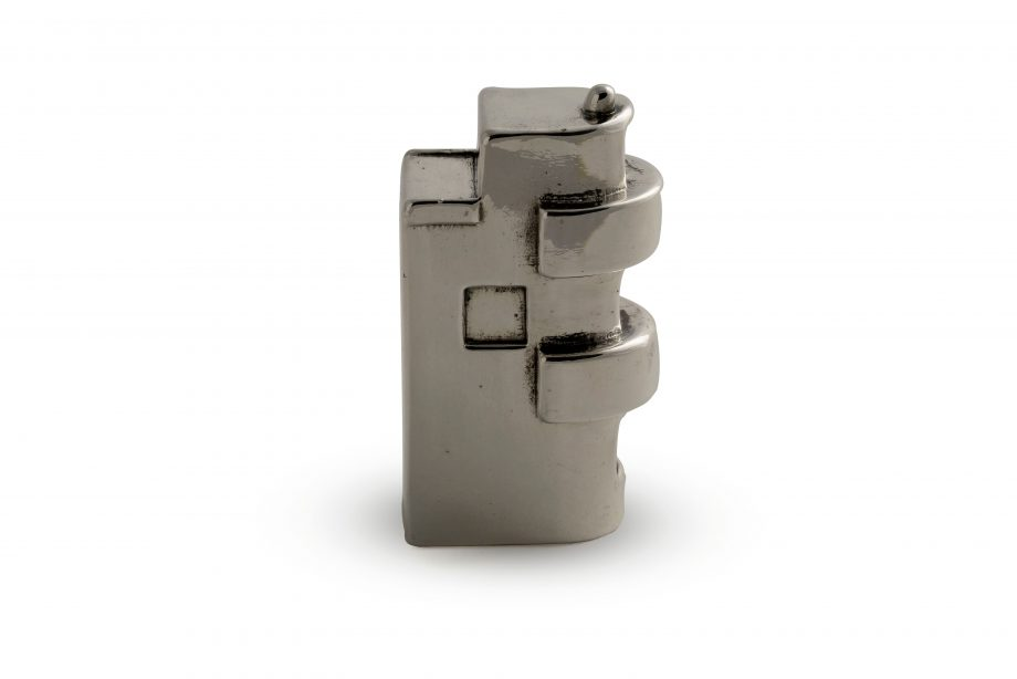 | Shlomo HaMelech 11, Tel Aviv Sterling Silver Miniature Building | Bauhaus Center Tel Aviv