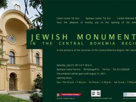 אנדרטאות יהודיות באזור בוהמיה המרכזית